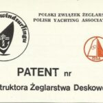 Polish Yachting Association logbook issued by Polish Yachting Association (Polski Związek Żeglarski)