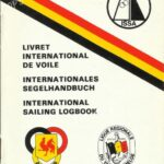 Beglium Yachting Association logbook issued by Beglium Yachting Association (Landelijke Bond van Watersport Verenigingen in Belgie)