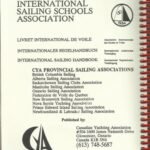 Canadian Yachting Association logbook issued by Canadian Yachting Association at the beginning of 1990ties